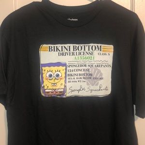 Nickelodeon Spongebob Squarepants DL T-Shirt